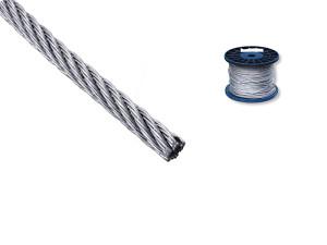 Трос DIN 3055 6х7 FC 250м 4мм