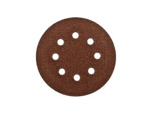 Шлифкруг 1шт. Velcro Стандарт Зубр d=125мм, K 60, 8 отв.