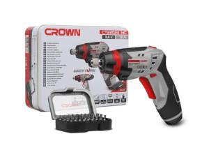 Аккумуляторный шуруповерт Crown CT22024MC