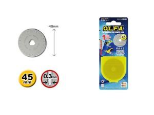 Лезвие круглое 45х3,0 мм Olfa RTY-2/G